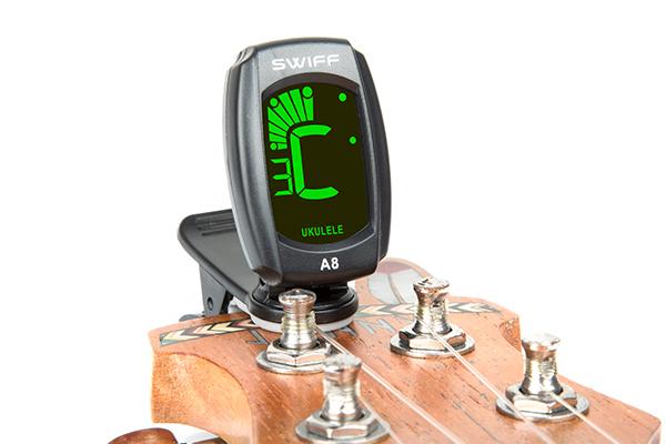 A8三色背光夹式调音器