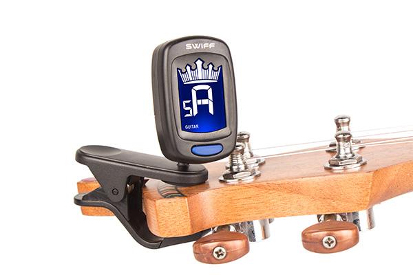 A9皇冠造型夹式调音器