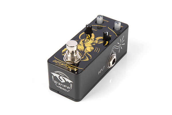 SWIFF AP01 DISTORTIONISTA Cable Free Pedal(DISTORTION)